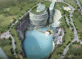 Hotel projects and tourist resorts
